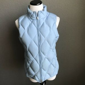 Pendleton Quilted Down Puffer Vest jacket blue